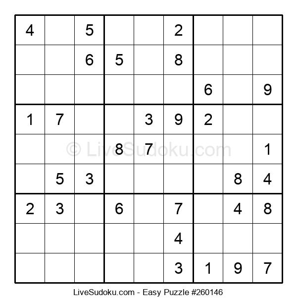 Beginners Puzzle #260146