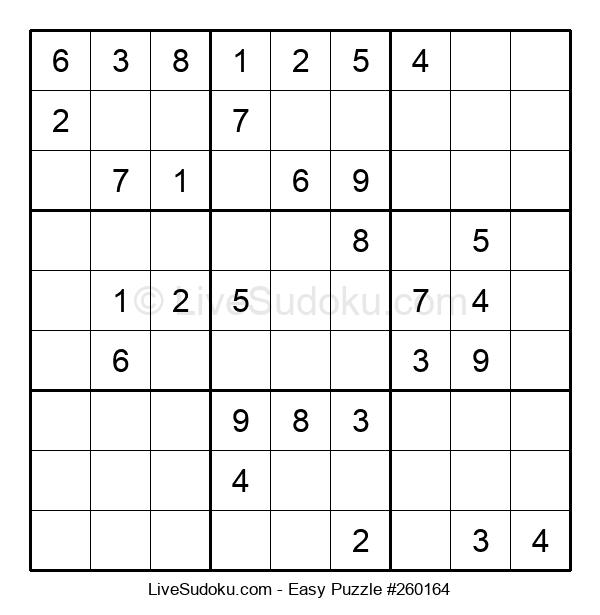 Beginners Puzzle #260164