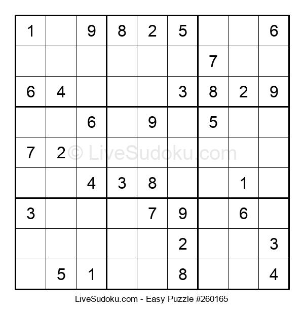 Beginners Puzzle #260165
