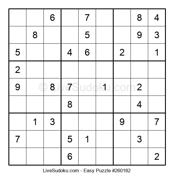 Beginners Puzzle #260182
