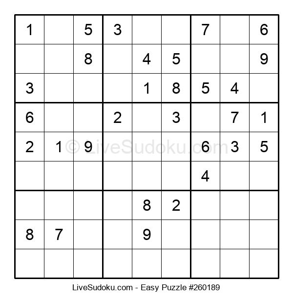 Beginners Puzzle #260189