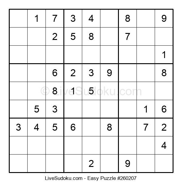 Beginners Puzzle #260207