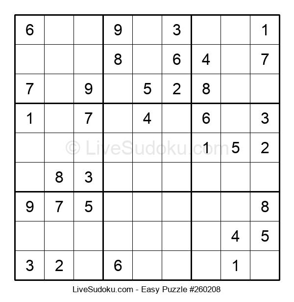 Beginners Puzzle #260208
