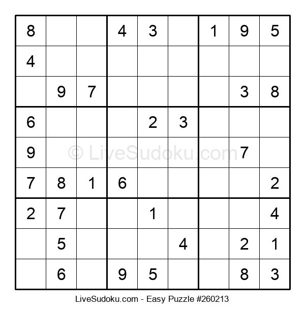 Beginners Puzzle #260213