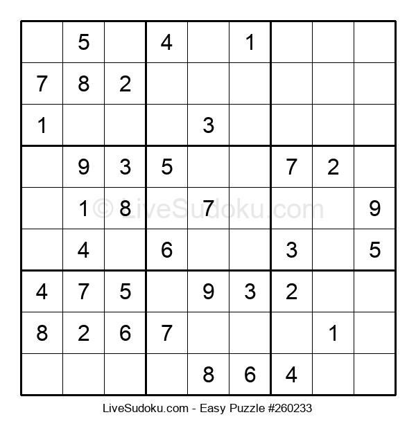 Beginners Puzzle #260233