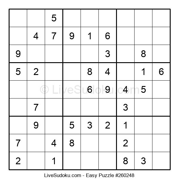 Beginners Puzzle #260248