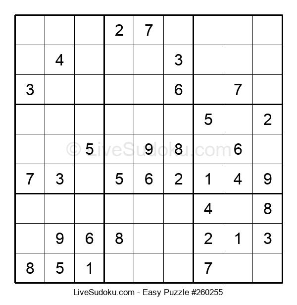 Beginners Puzzle #260255