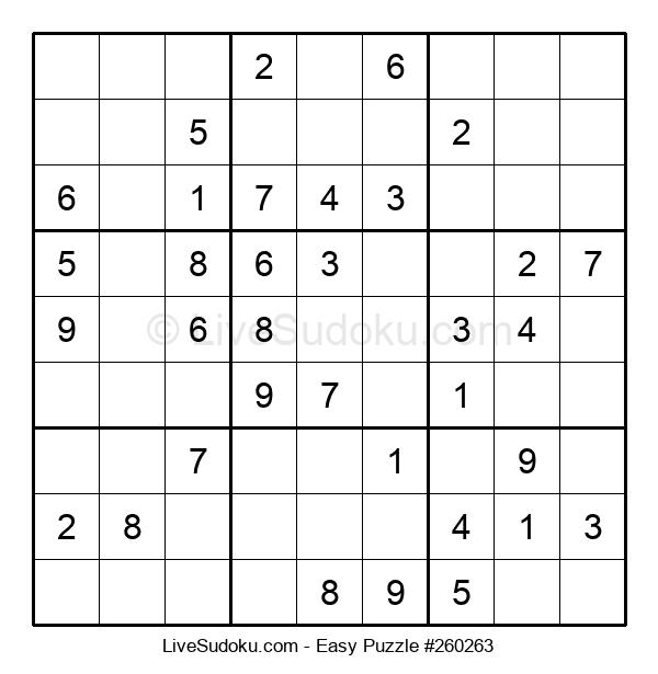 Beginners Puzzle #260263