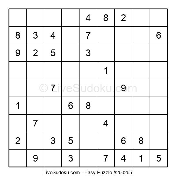 Beginners Puzzle #260265