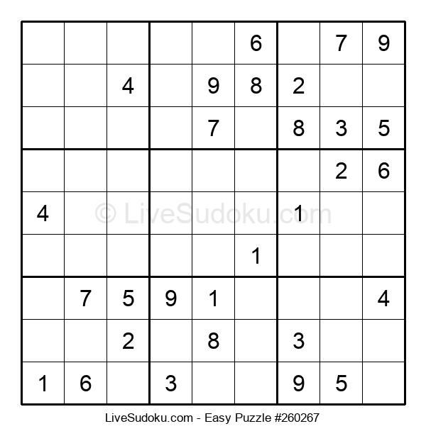 Beginners Puzzle #260267