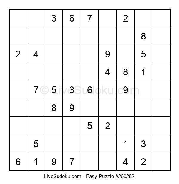 Beginners Puzzle #260282