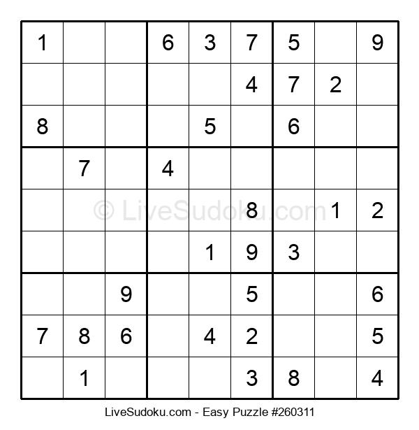 Beginners Puzzle #260311