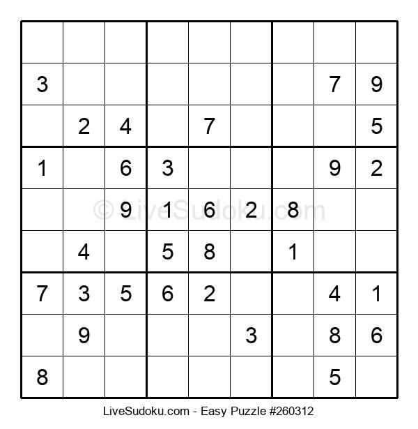 Beginners Puzzle #260312