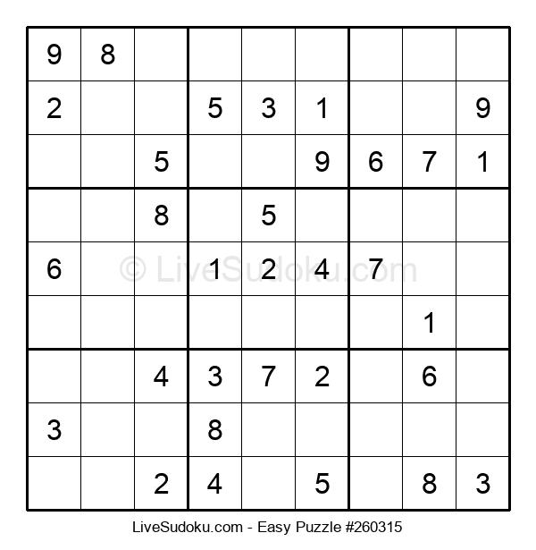 Beginners Puzzle #260315