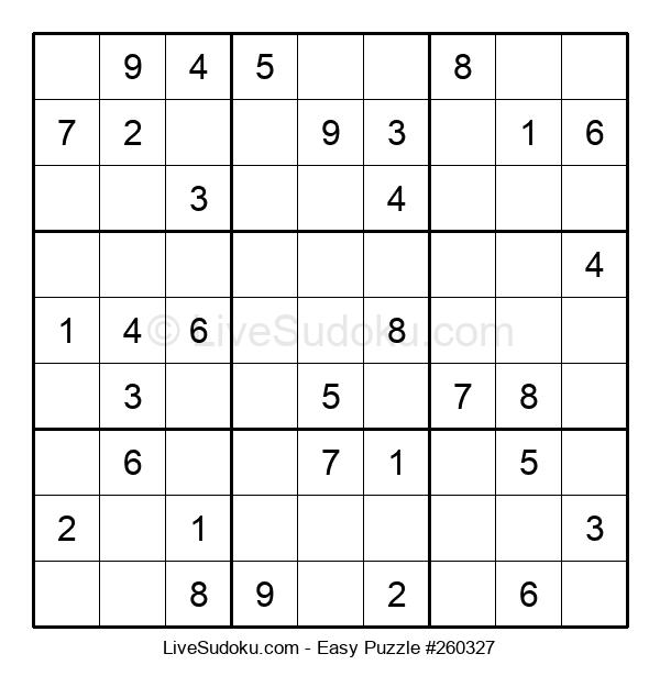 Beginners Puzzle #260327