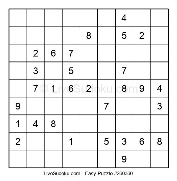 Beginners Puzzle #260360
