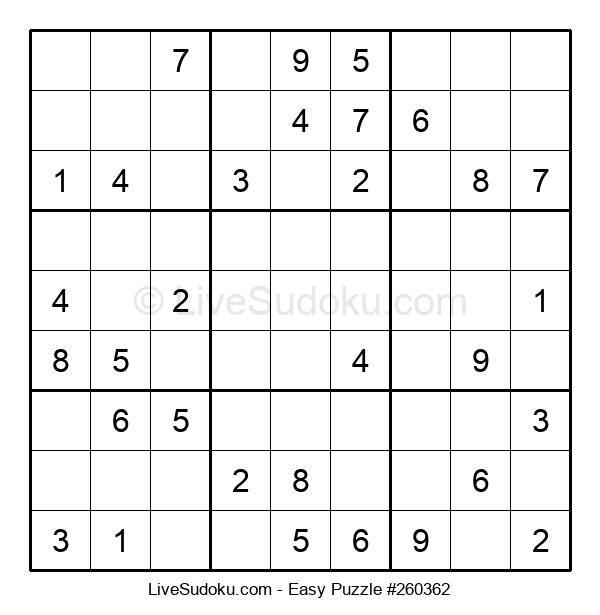 Beginners Puzzle #260362