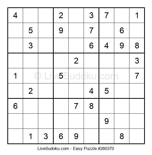 Beginners Puzzle #260370