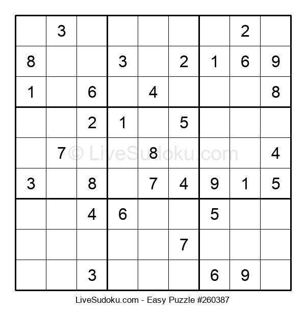 Beginners Puzzle #260387