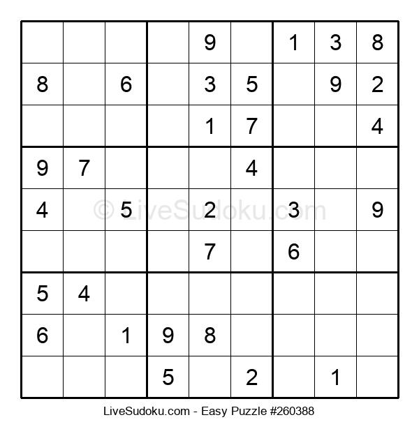 Beginners Puzzle #260388