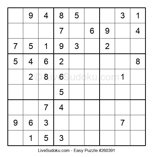 Beginners Puzzle #260391