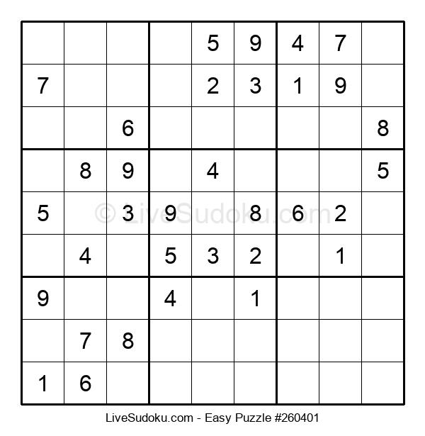 Beginners Puzzle #260401