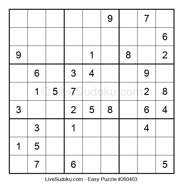 Beginners Puzzle #260403