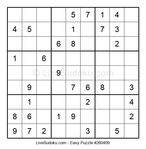 Beginners Puzzle #260409