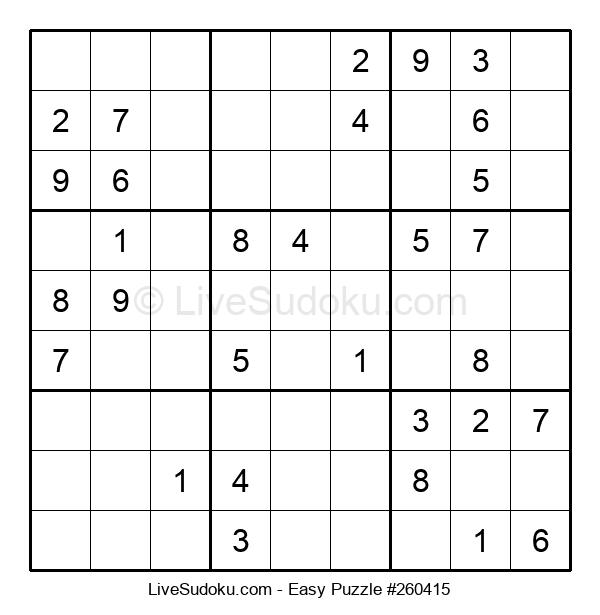 Beginners Puzzle #260415