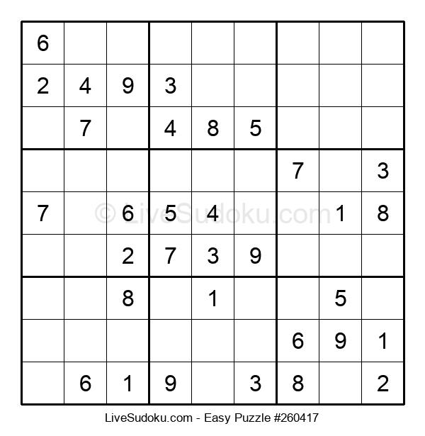 Beginners Puzzle #260417