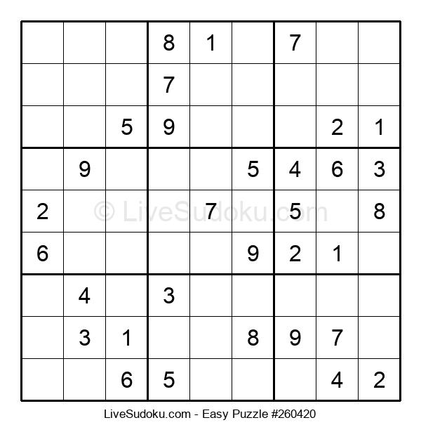 Beginners Puzzle #260420