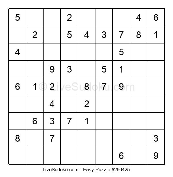 Beginners Puzzle #260425