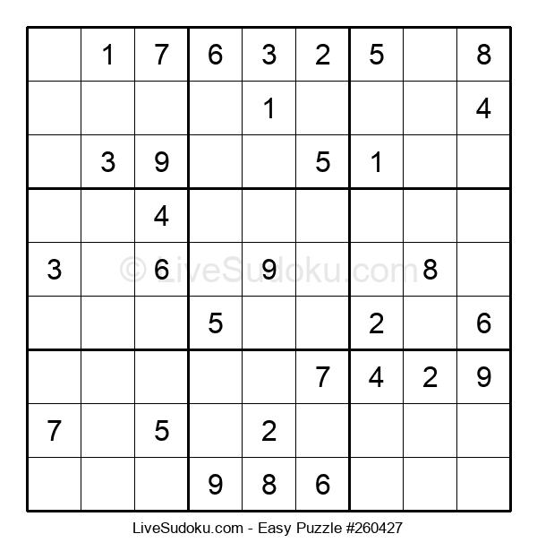 Beginners Puzzle #260427