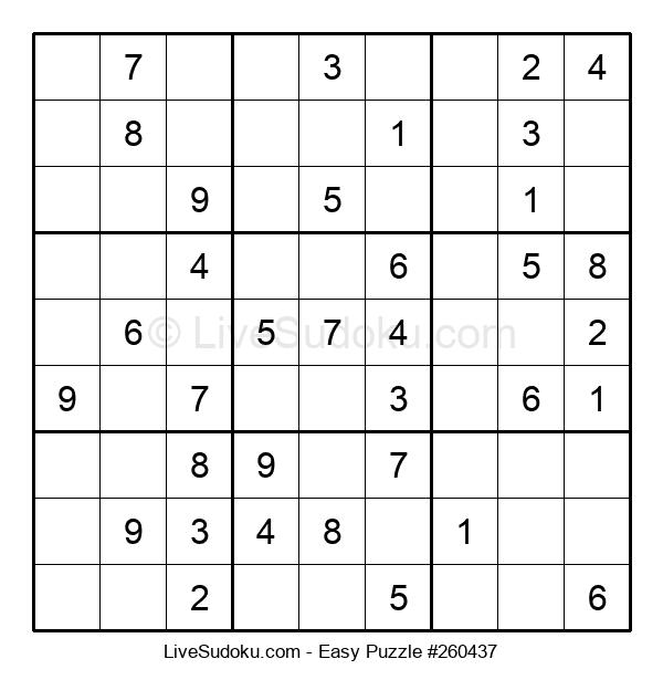 Beginners Puzzle #260437
