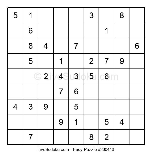 Beginners Puzzle #260440