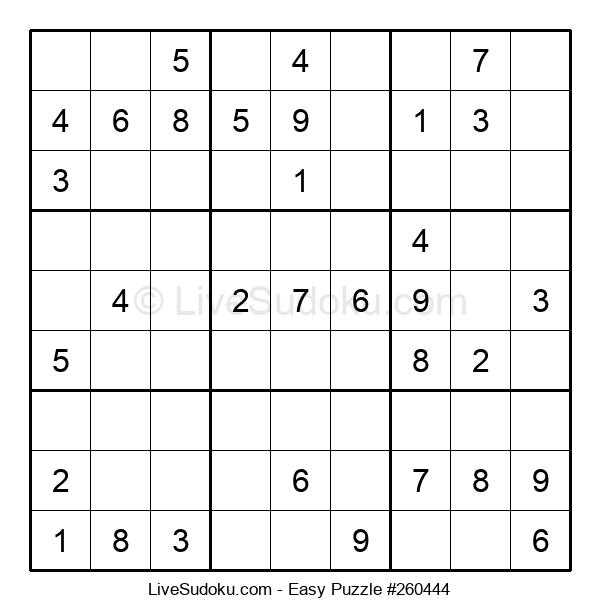 Beginners Puzzle #260444