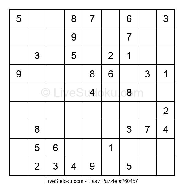 Beginners Puzzle #260457