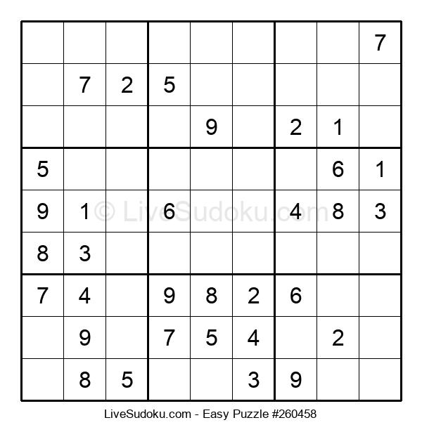 Beginners Puzzle #260458
