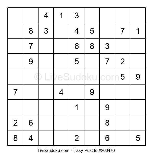 Beginners Puzzle #260476