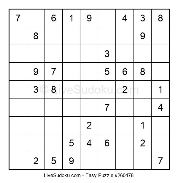 Beginners Puzzle #260478