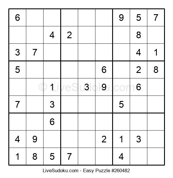 Beginners Puzzle #260482