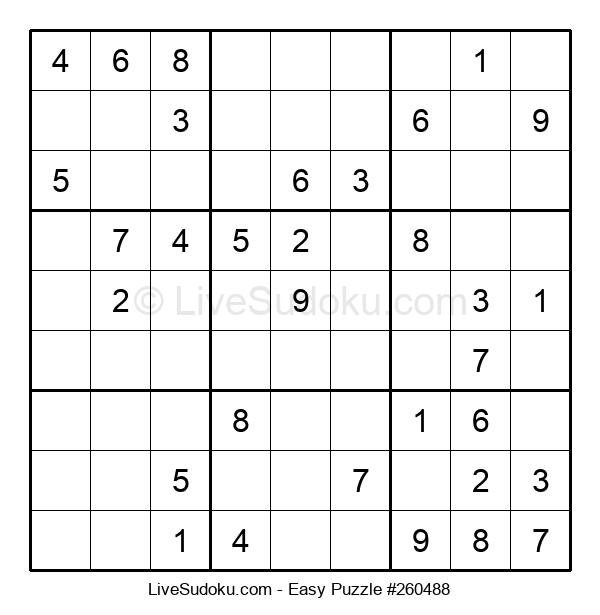 Beginners Puzzle #260488