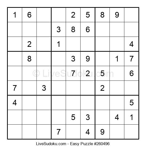 Beginners Puzzle #260496