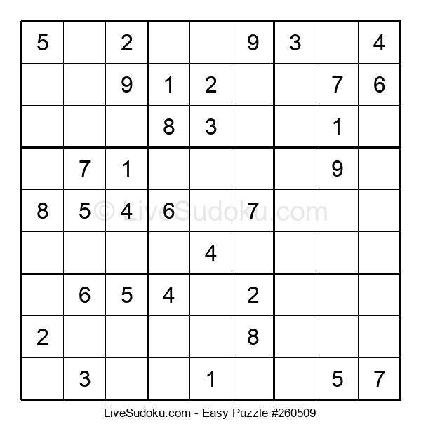Beginners Puzzle #260509