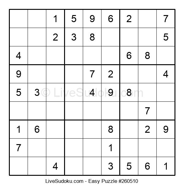 Beginners Puzzle #260510