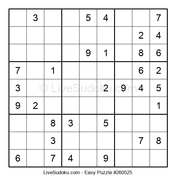Beginners Puzzle #260525