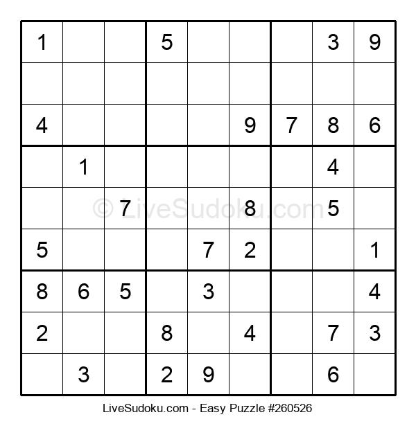Beginners Puzzle #260526