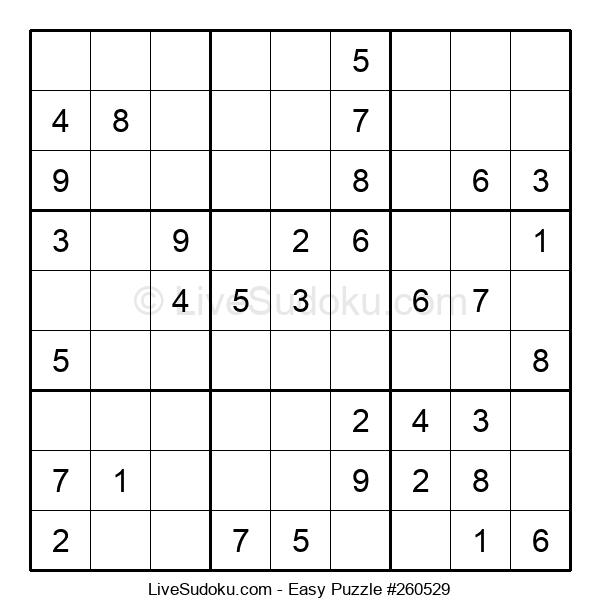 Beginners Puzzle #260529