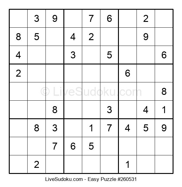 Beginners Puzzle #260531