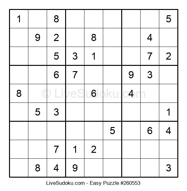 Beginners Puzzle #260553